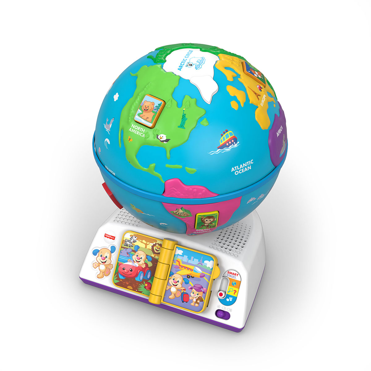wereldbol fisher price
