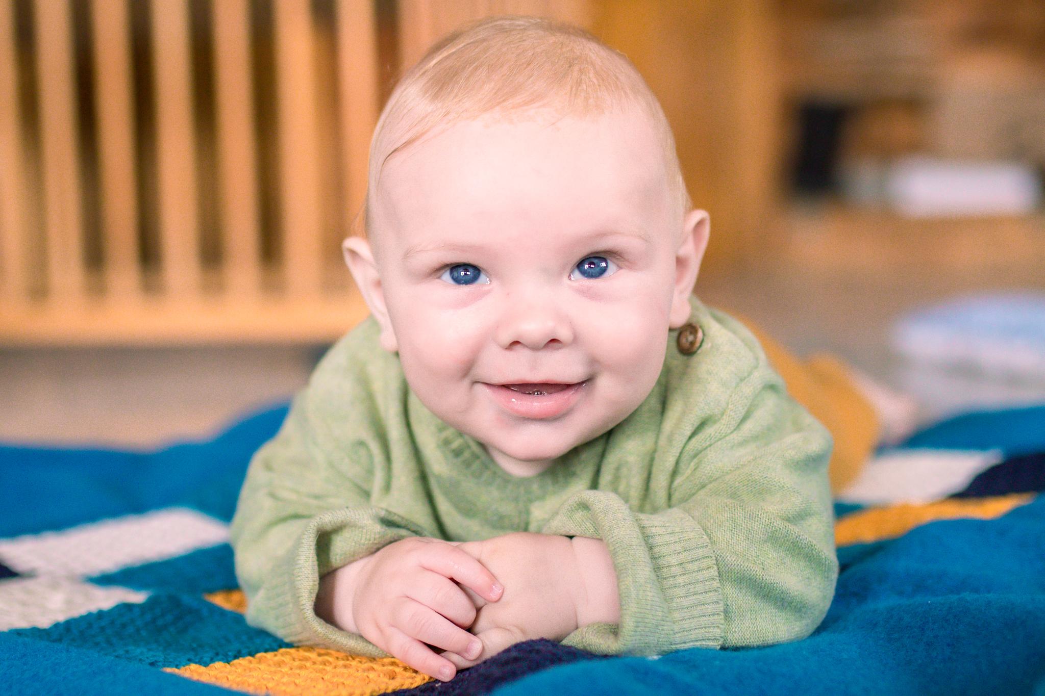 Baby Bram 4 maanden