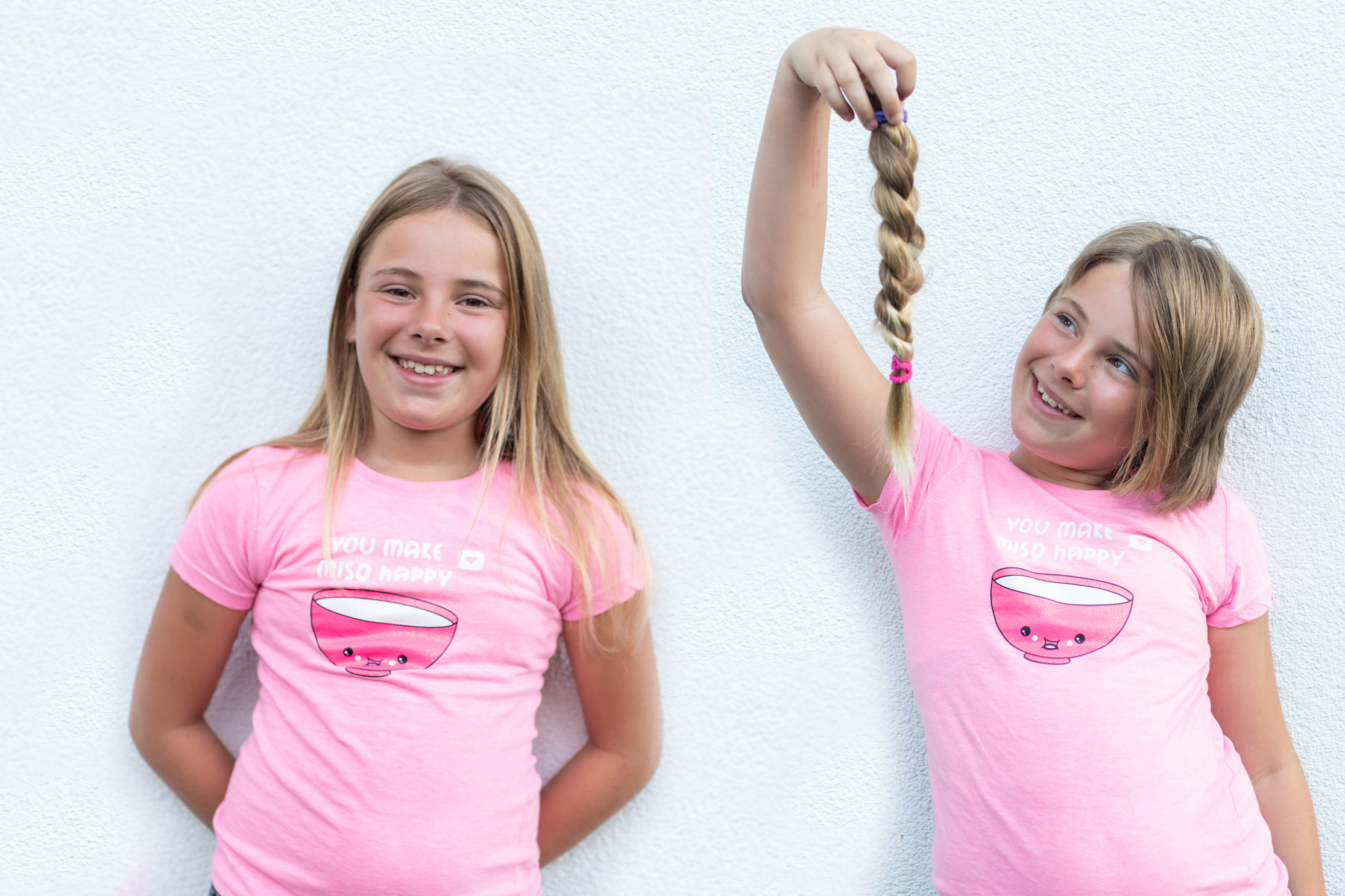 2020: Eva (9 jaar) doneerde voor de derde keer haar haren aan Stichting Haarwensen